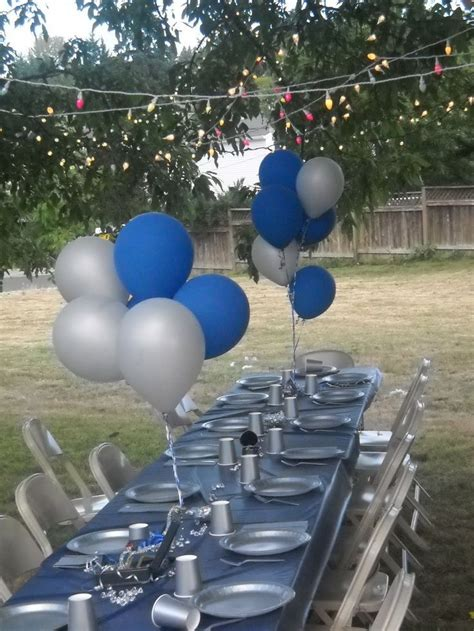 denim  diamonds party     tree   nailed   string  pictures