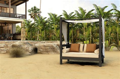 Outdoor Canopy Beds stylish and fashionable outdoor beds for the ultimate