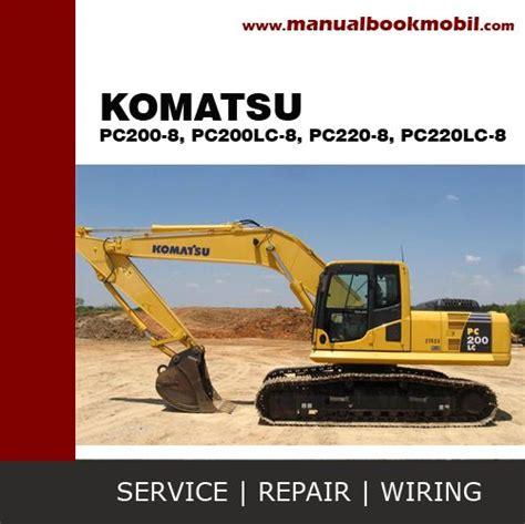 Shop Manual Komatsu Excavator Pc200 8mo the world s catalog of ideas