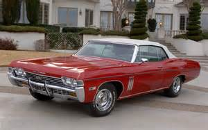 1968 chevrolet impala impala ss review pictures
