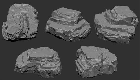 zbrush terrain tutorial frustrated and jealous rock sculpting help page 2