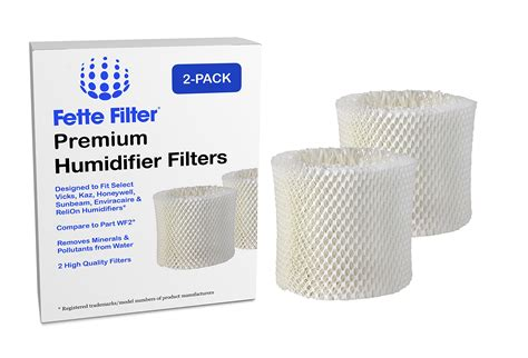 2 pack vicks kaz wf2 humidifier compatible filter 859781006035 ebay