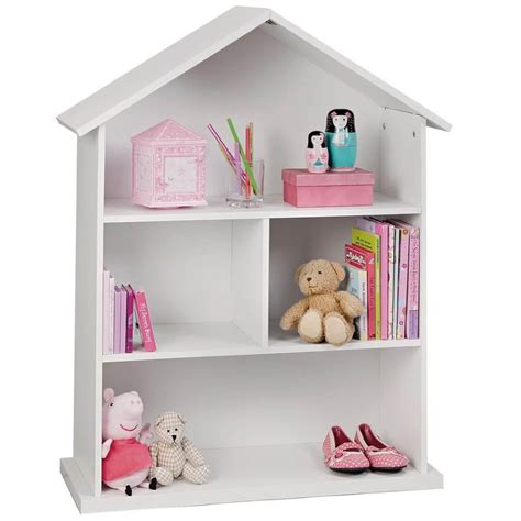 white dolls house kid s doll s house bookcases storage ideas