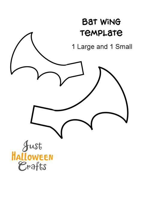 bat wing template bat pom pom craft tutorial and free template