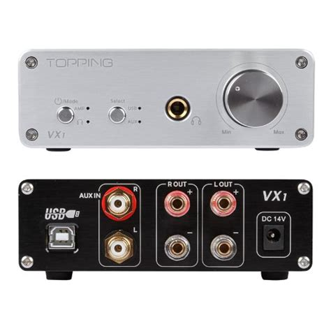 Topping Vx1 Digital Lifier Ta2021 With Dac And Headphone topping vx1 digital lifier ta2021 with dac and headphone silver jakartanotebook