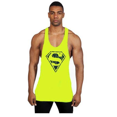 Singlet Fitness Kode 47 brand shark singlets tank top stringer