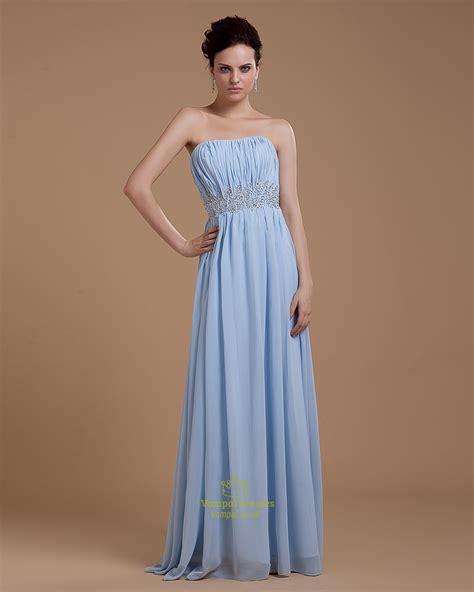 womens light blue dress light blue strapless sweetheart crop top prom dress for