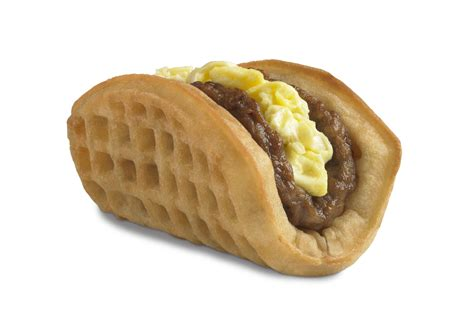 taco bell taco bell rolls out waffle taco in breakfast war with mcdonald s nbc news