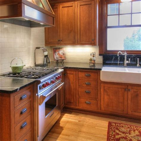 mission style kitchen cabinet hardware cherry craftsman style cabinets soapstone counter tops