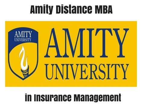 Different Mba Courses In Usa by Amity Distance