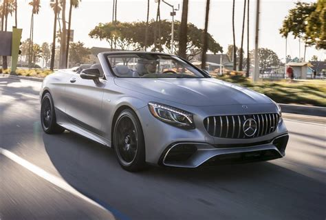 mercedes e63 amg convertible 2018 mercedes amg s63 coupe s63 convertible review