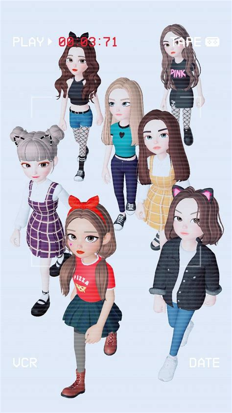 zepeto girls   seni animasi  tumblr