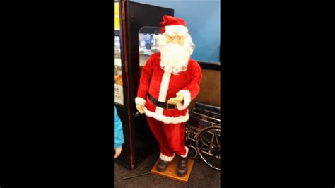 walmart singing and dancing santa claus walmart santa