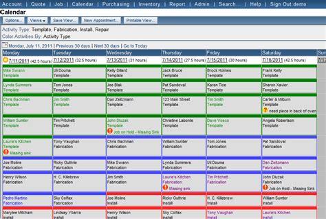 jobtracker scheduling software for countertop fabricators