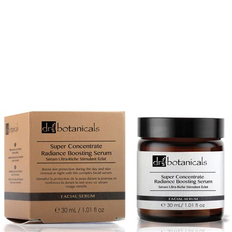 Serum Dr dr botanicals concentrate radiance boosting serum