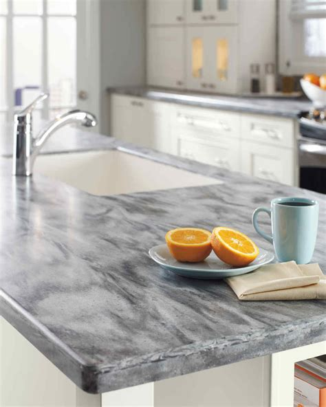 home depot quartz and corian countertops martha stewart - Pictures Of Corian Countertops
