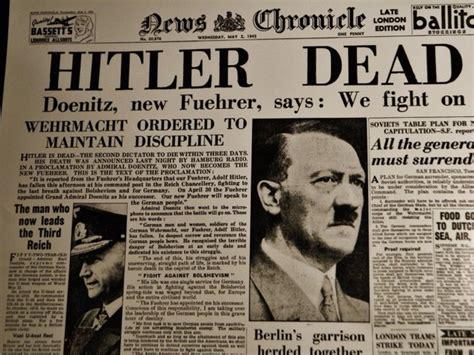 biografi kematian hitler adolf hitler diktator nazi jerman pencetus perang dunia