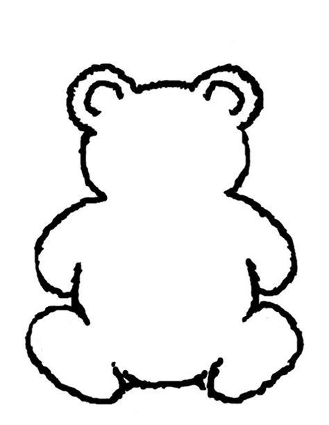 best photos of free printable bear stencils bear stencil