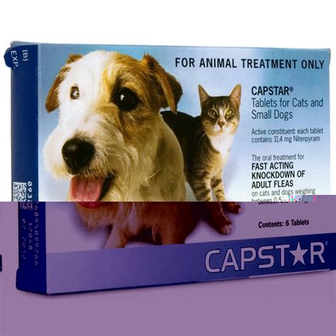 capstar for cats small dogs capstar tablets cats and small dogs 0 5 11kg 6 tablets