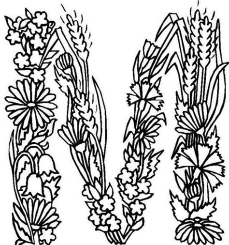 coloring pages with the letter m letter m coloring pages coloring home