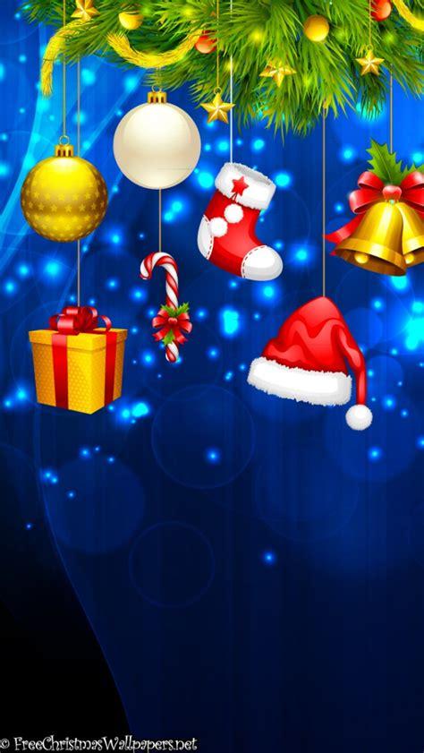 christmas ipod wallpapers garland ornaments iphone 5 5s ipod wallpaper freechristmaswallpapers net