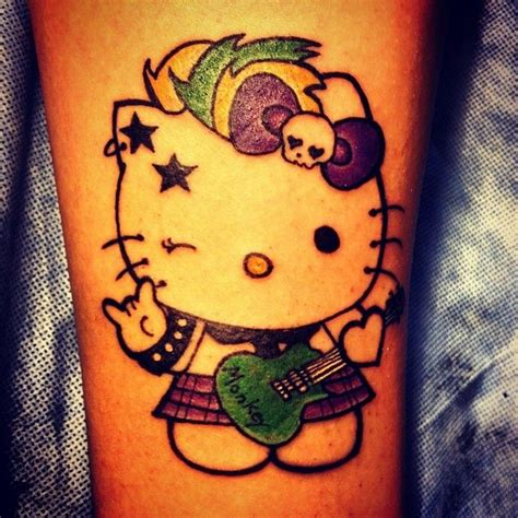 punk rock tattoos 25 best ideas about tattoos on kitten