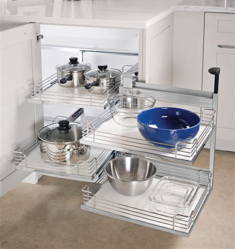 magic corner kitchen cabinet magic corner ii for blind corner cabinets in the h 228 fele