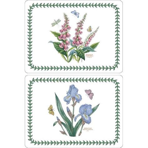 Portmeirion Botanic Garden Placemats Portmeirion Botanic Garden Placemats Set Of 6 Louis Potts
