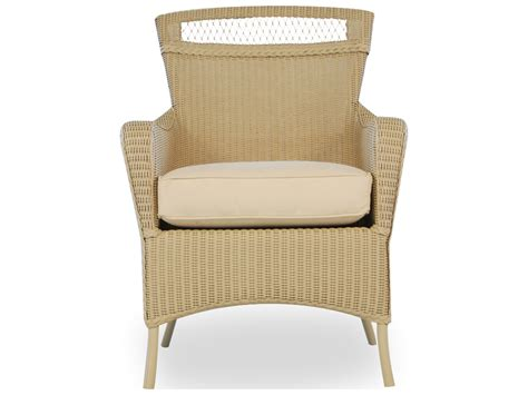 wicker dining chairs with cushions lloyd flanders wicker cushion arm dining chair 66001