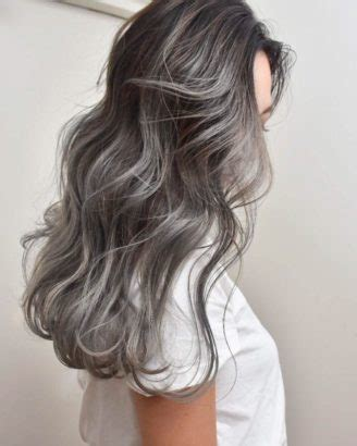 japanese hair color smoked marble hair the japanese hair colour trend