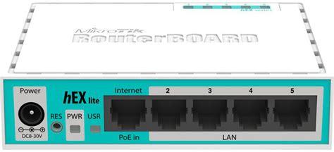 Murah Mikrotik Router Indoor Rb750r2 Hex Lite Rb750 R2 White Blue mikrotik buy mikrotik rb750r2 850mhz 64mb ram 5 lan