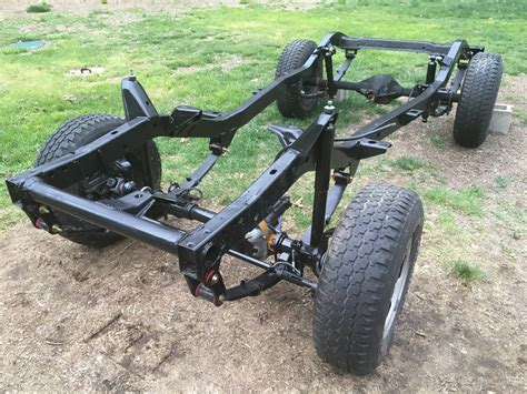 jeep chassis yj rehab part 1 rebuilding a jeep yj chassis