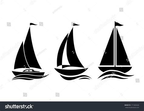 sailboat vector icon sailboat icons stock vector illustration 171465026