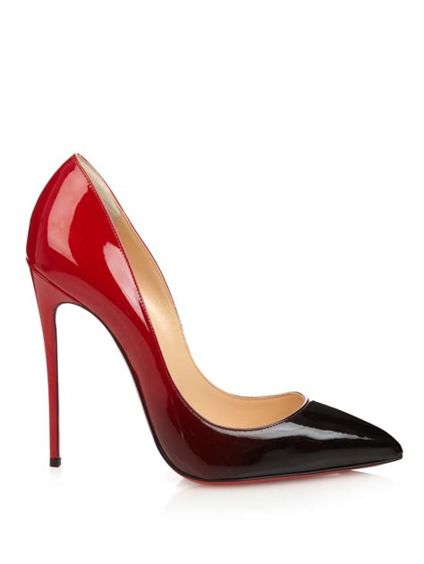 Christian Louboutin lyst christian louboutin pigalle follies ombr 233 pumps in black