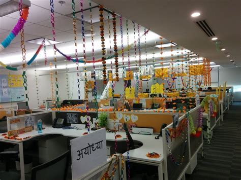 tips  decorate office  diwali decorchamp