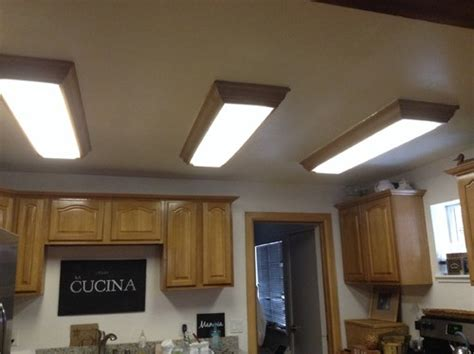 replacing fluorescent light in kitchen replace fluorescent ceiling fixtures in kitchen