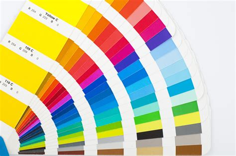 find a color chart for all your home painting projects
