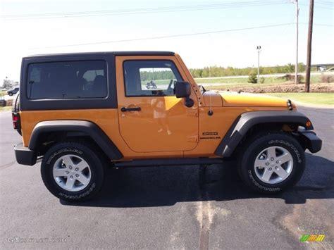 2013 jeep wrangler colors 2013 dozer yellow jeep wrangler sport s 4x4 70618111