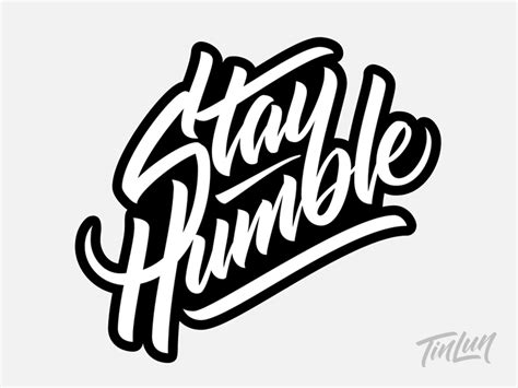 stay humble final vector by terence tang dribbble