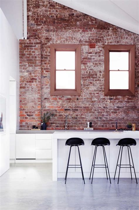 brick wall kitchen 19 stunning interior brick wall ideas decorate with