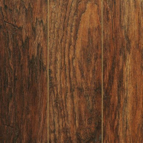 Home Decorators Collection Flooring Home Decorators Collection Scraped Medium Hickory 12 Mm Thick X 5 9 32 In Wide X 47 17 32
