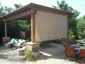 Pergola Screens by Roll Shades Discount Solar Screens Serving Houston The