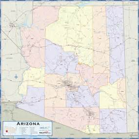 arizona map counties and cities