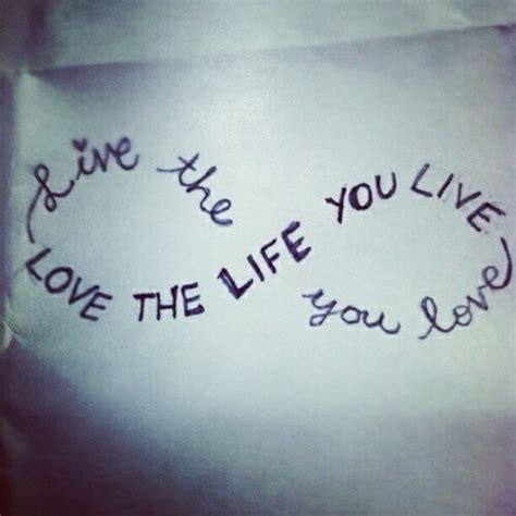 tattoo love the life you live live the life you love love the life image 626307 on
