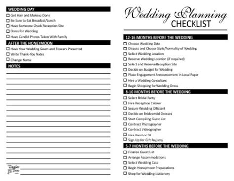 Wedding Budget Division by 7 Best Images Of Wedding Planning List Printable Wedding