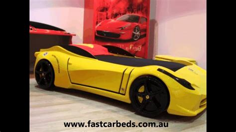 Ferrari Bett by Yellow F1 Aero Ferrari Look Car Bed Youtube
