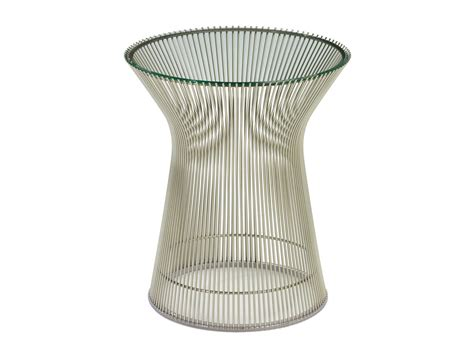 buy the knoll platner side table at nest co uk