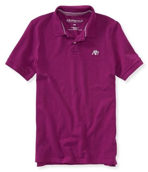 Ae Ropostale Shirts White aeropostale mens a87 rugby polo shirt