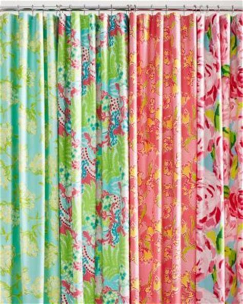 garnet hill shower curtains lilly pulitzer sister florals shower curtain garnet hill