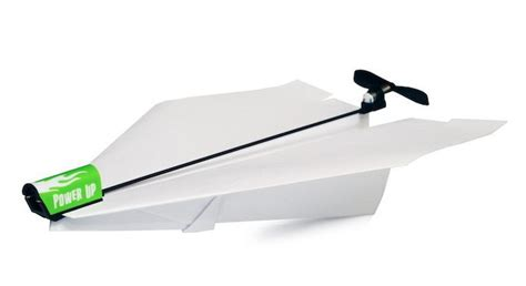 toys power up electric paper airplane conversion